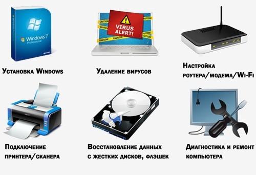 компьютерные услуги Новосибирск